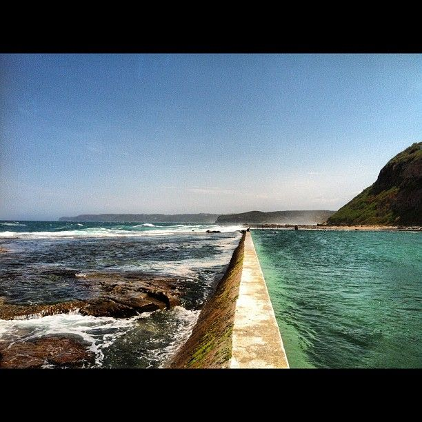Merewether Baths in Newcastle, Australia!