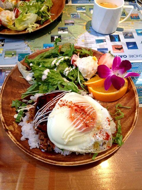 レシピとお料理がひらめくSnapDish - 6件のもぐもぐ - ハワイアンカフェにて、ランチ。 by aky & co.