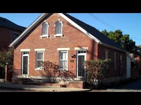Historic Dutch Double Home Design German Village Columbus Ohio