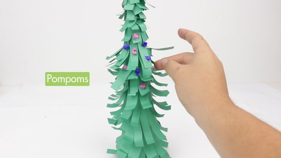 How To Make A Paper Tree For Kids Paper Tree Trees For Kids How To Make Christmas Tree
