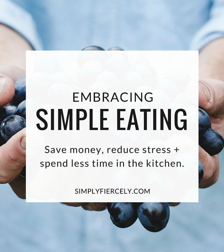 Simple eating how i learned to save money reduce stress for Minimalist living money