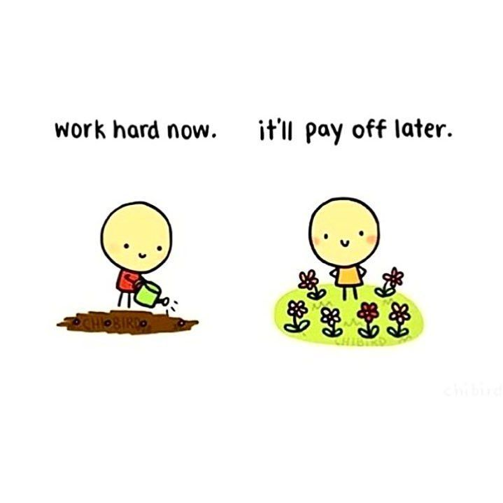 Even when we put the work in today doesn't mean we are going to see all the results tomorrow ..... It takes time! It takes repetivinesss and passion to keep going even when your flowers aren't blooming!!! --- If a nice tone body or control over your binge eating disorder is what you strive for plant the seed and provide yourself with the love and care it needs along the way. IT WONT HAPPEN OVERNIGHT! and it probably won't happen in 2 weeks BUT it will happen over time!!! .... Just keep…