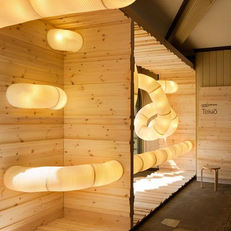 Tekio by Anthony Dickens: Modular Lighting, Interior, Inspiration, Lighting Design, Paper Lanterns, Art, Lighting System
