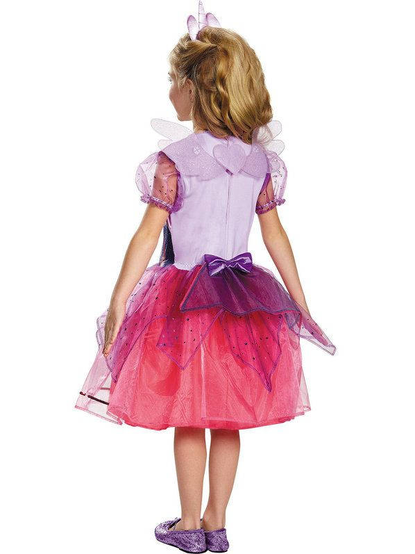 Check out Girls My Little Pony Twilight Sparkle Deluxe Costume - Cartoon Characters Costumes from Costume Super Center