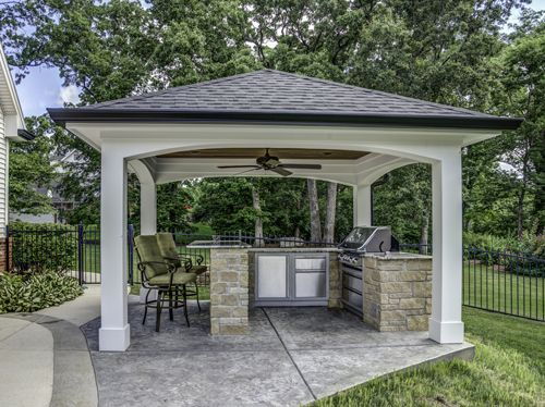 Outdoor Kitchens - Heartlands Building Company