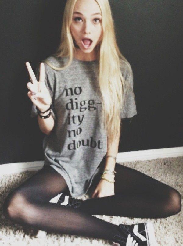 I need this shirt!! No Diggity No Doubt Top - Graphics