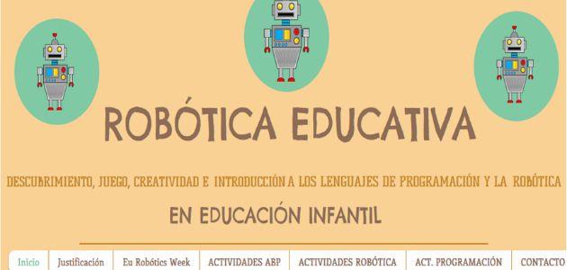 Competencias clave en la práctica: La clase de los Robots del CEIP Antonio Machado