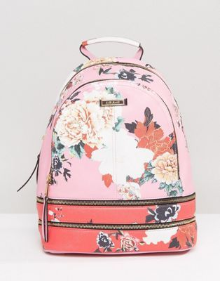 River Island Floral Print Backpack