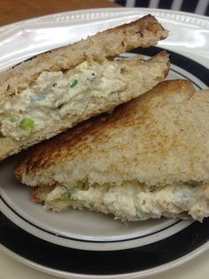 Homemade Chicken Salad Basic. Simple. Perfect for 2. Swap out the meat with a quorn product.