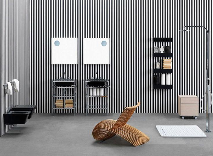 Casa de banho completa de cerâmica Linha Volo by CERAMICA FLAMINIA | design Alessio Pinto