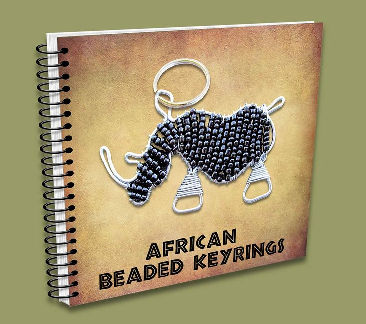 African Beaded Keyrings Catalogue - handmade in South Africa.