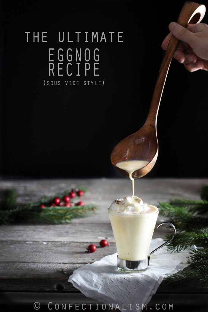 the ultimate eggnog sous vide recipe using an anova immersion circulator the most delicious eggnog - Immersion Circulator