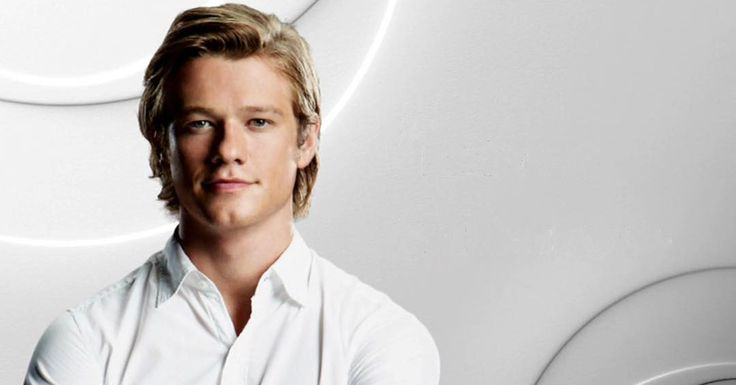 Lucas Till promo photo for MacGyver
