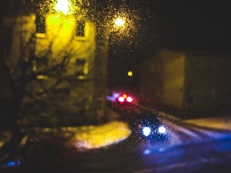 #Phone #photo #photography #project #window #night #dark #blur #cars #lights