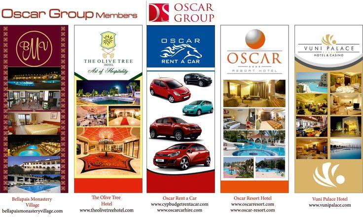 OSCAR GROUP OF HOTELS Kyrenia #Cyprus Oscar Renta Car