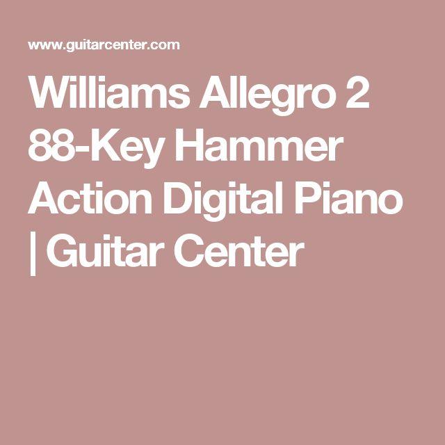 Williams Allegro 2 88-Key Hammer Action Digital Piano | Guitar Center