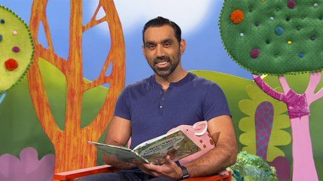 Play episode, Play School Celebrity Covers Adam Goodes: Counting Aussie Animals In My Backyard
