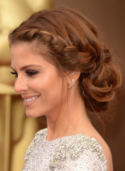 Unique Hairstyles For Long Hair - Braid a Messy Bun