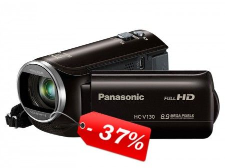 Video Cámara Panasonic HC-V130PU- K