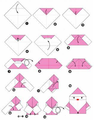 No rastro da memória (Santa Rita do Sapucaí): A arte do Origami - Papai Noel