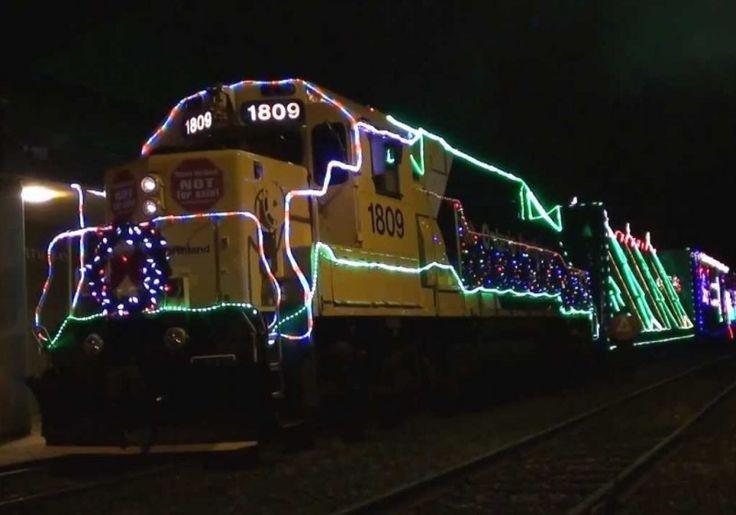 Train de Noël de la compagnie ferroviaire Ontario Northland   Quoi faire à Rouyn-Noranda   CLD de Rouyn-Noranda Tourisme