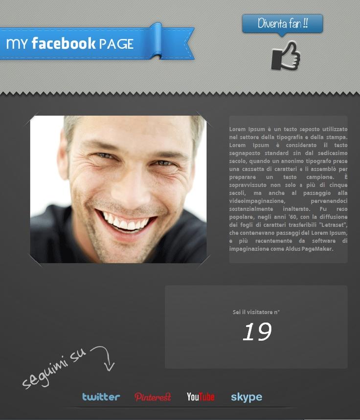 Nuova welcome tab da personalizzare • Brand new Facebook welcome tab costumizable