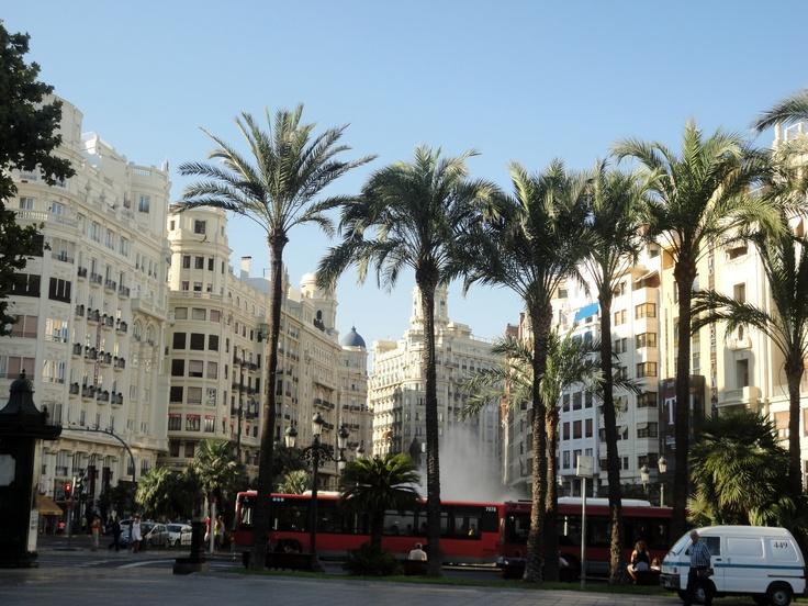 Valencia, Plaza Ayuntamiento