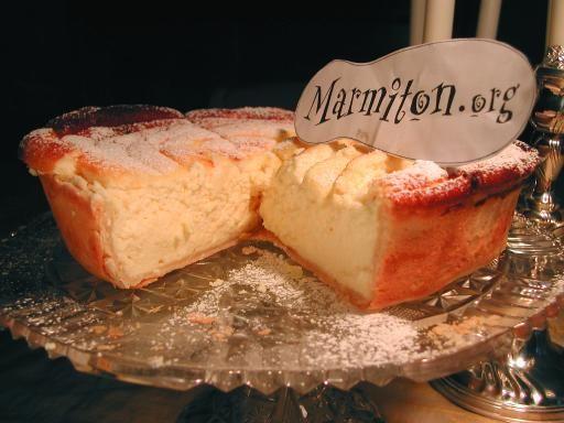 Tarte haute au fromage blanc à l'alsacienne