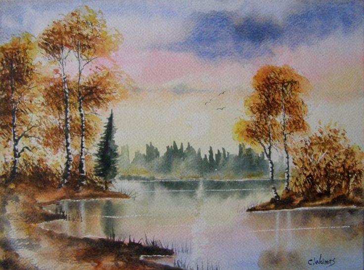 Autumn Glory 12 x 9 Watercolour