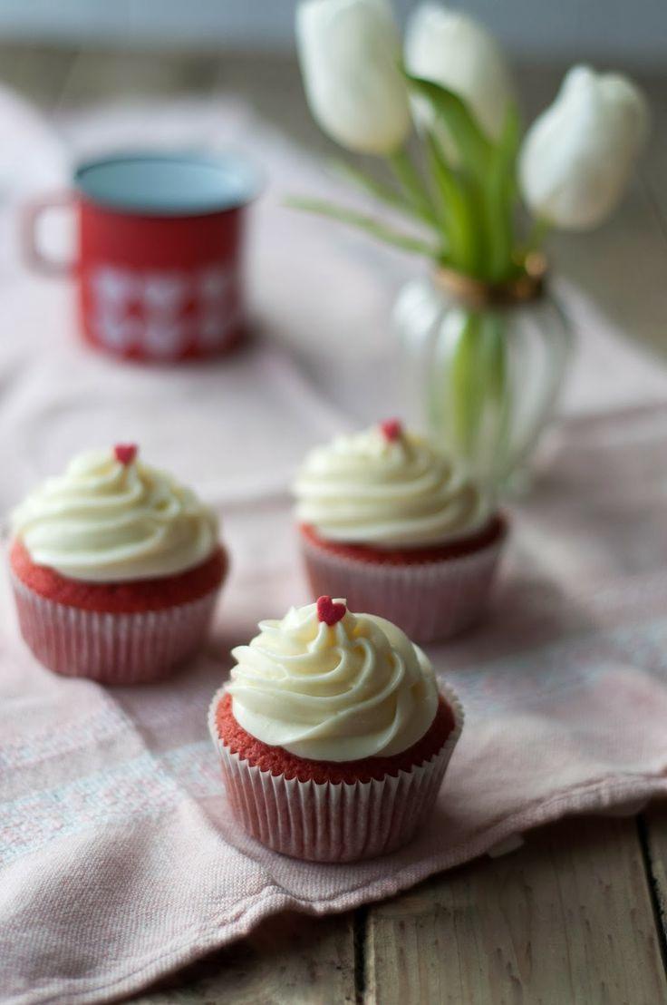 Valentinstag: Red Velvet Cupcakes, die zweite
