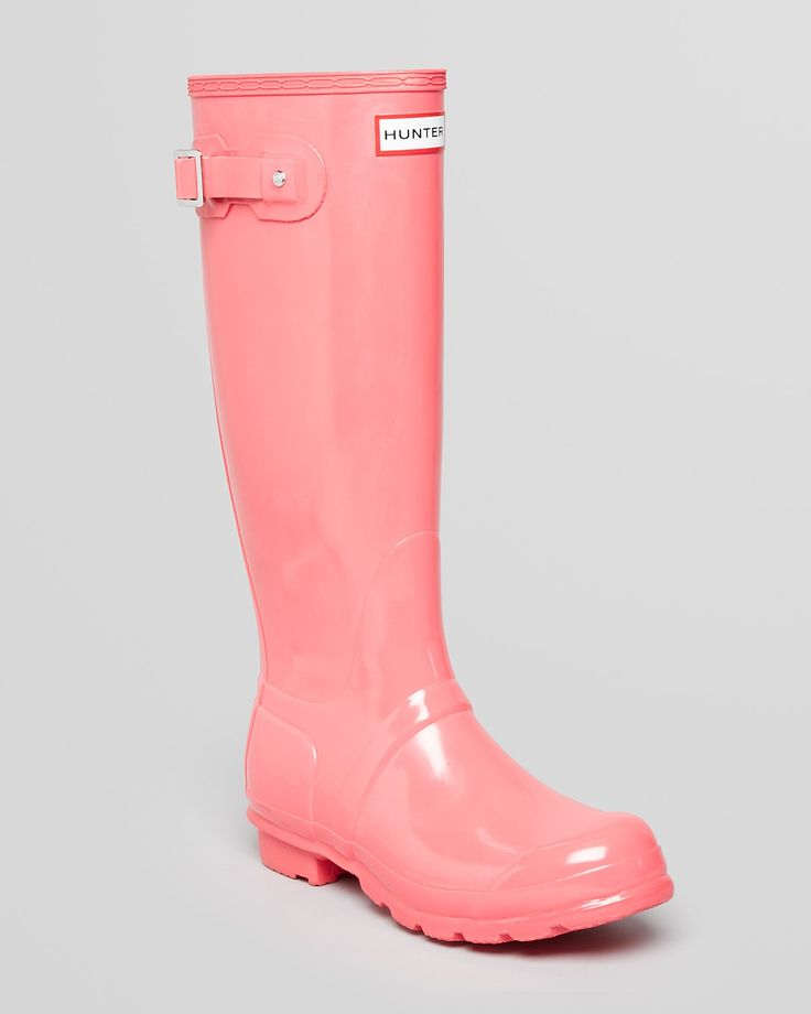 Hunter Rain Boots - Crimson Pink -Original Tall Gloss | Bloomingdale's - I TOTALLY WANT THESE!!!