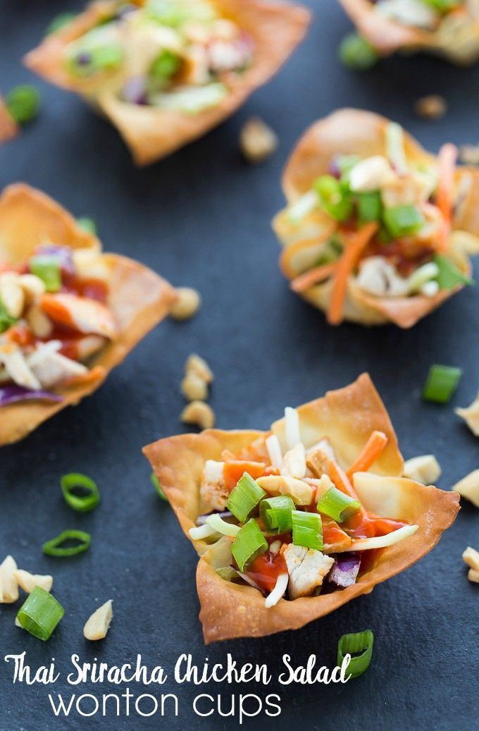1000+ images about Wonton Cup Recipes on Pinterest   Crabs, Tacos and ...