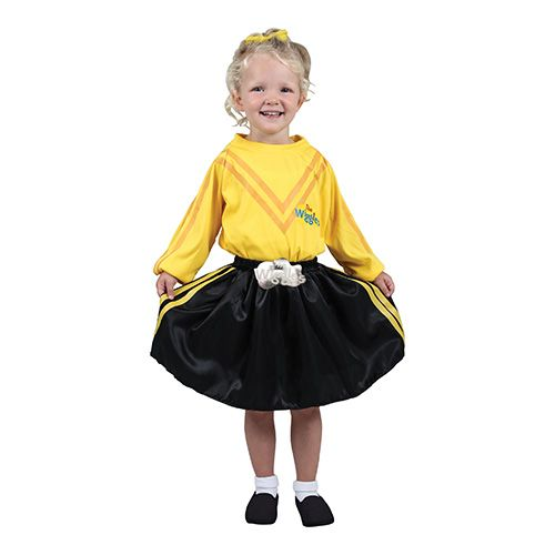 The Wiggles Emma Dress Up - Yellow. Ivy would love this! $29.95
