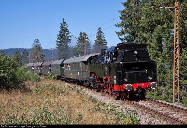 RailPictures.Net Photo: 86 333 WTB Wutachtalbahn Steam 2-8-2T at Feldberg - Bärental, Germany by Urs Diener