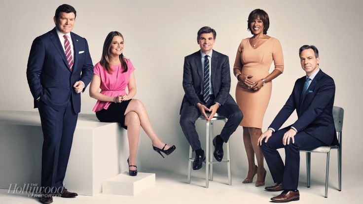 Savannah Guthrie, Jake Tapper, George Stephanopoulos, Bret Baier and Gayle King Join THR's First TV Anchor Roundtable #FansnStars