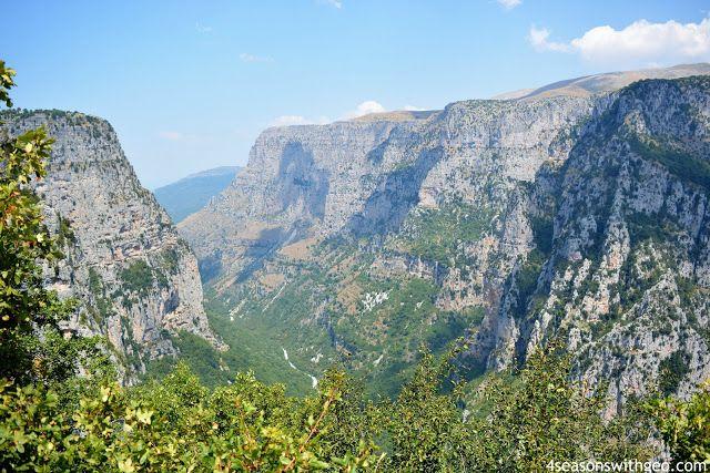 vikos aoos national park zagori greece