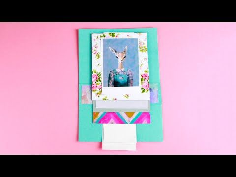 Our tutorial is about how to craft a peculiar handmade waterfall card in a scrapbooking technique. This original birthday card will collect your photo emotions and gift your nice day recalls to a friend! #greetingcard #scrapbooking #waterfallcard
