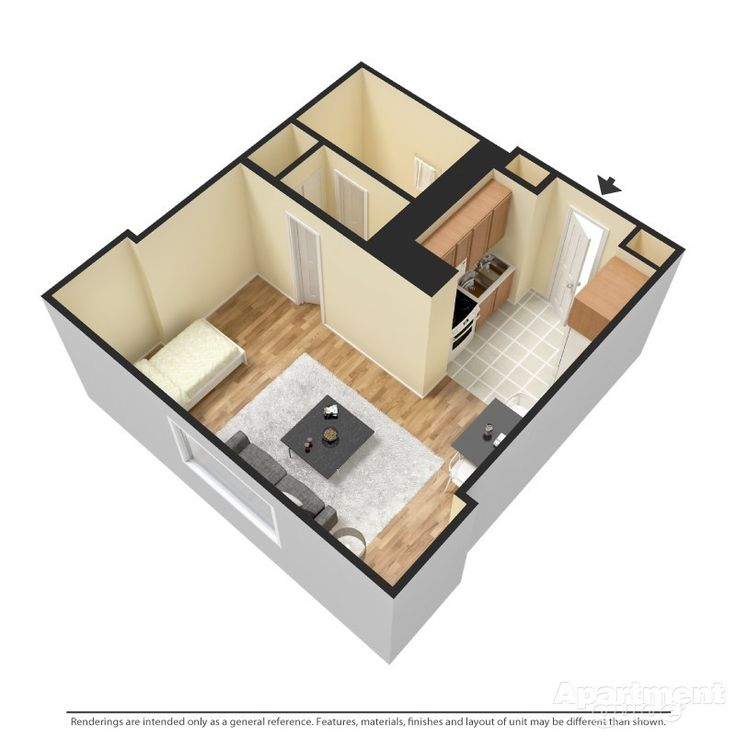 236 best images about 1 bedroom apartment floor plan on