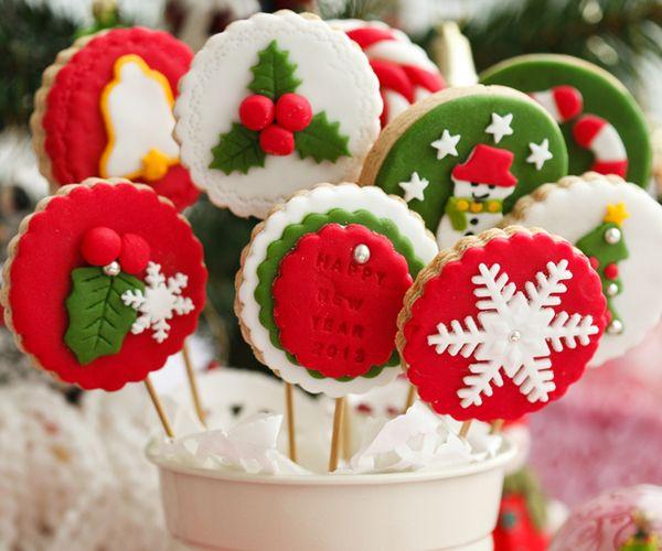 20 créations de cake design à dévorer des yeux ! - Sucettes de Noël