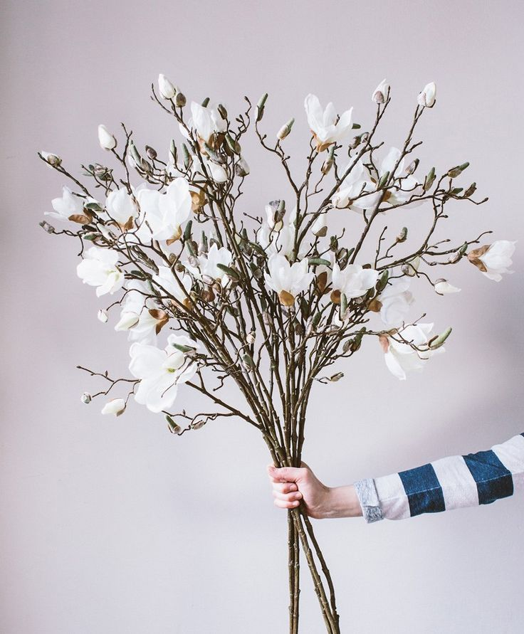Magnolia | Stunning faux flowers | Olive & the Fox