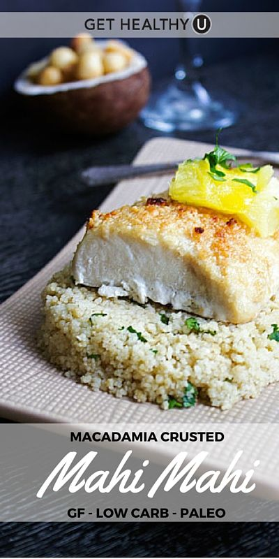 We love a quick, tasty and healthy dinner. In fact, those are our absolute favorite meals to make. This mahi mahi recipe is exactly that. The mahi mahi is meaty, filling, high in protein and low in calories and fat – score! Plus the recipe is gluten-free, low carb and paleo.