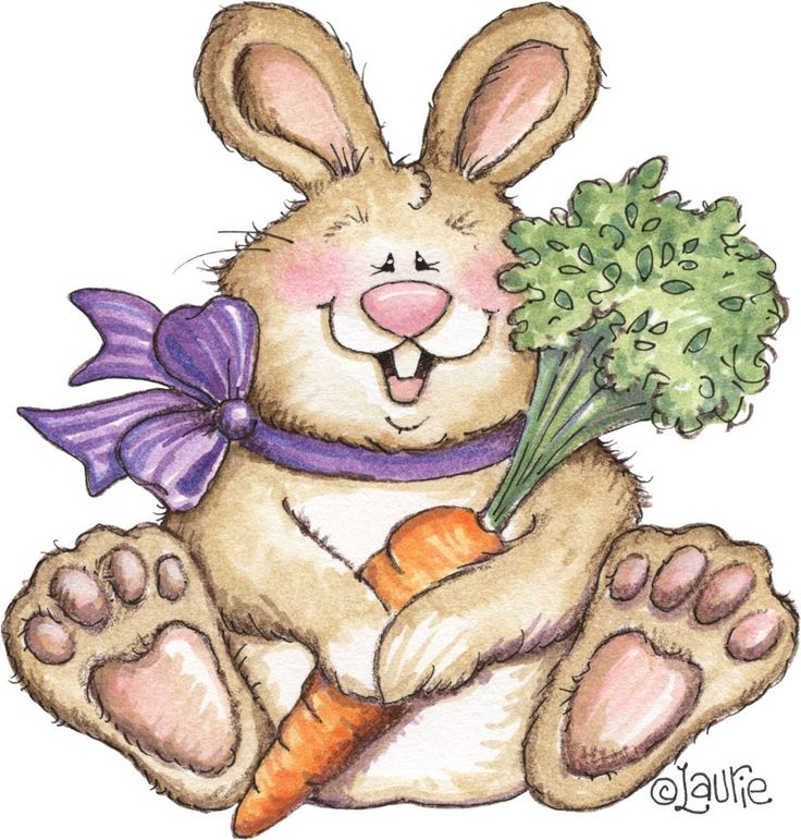 Bunny+and+Carrot-734990.jpg (967×1014)