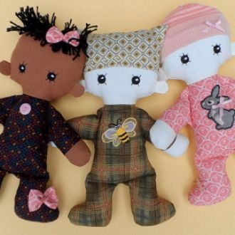 BABY- Cloth doll pdf pattern | Sewing Pattern | YouCanMakeThis.com