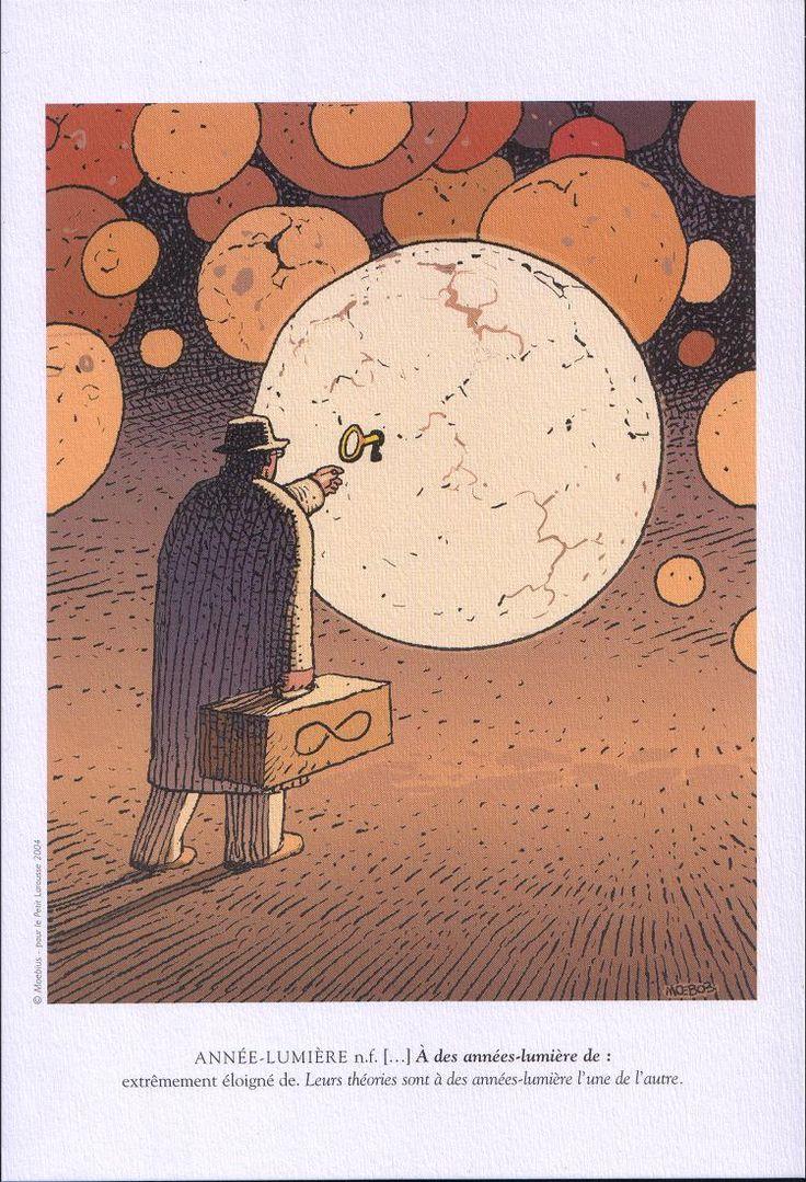 Moebius #comics #illustrations #moebius