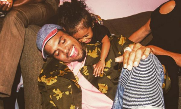 17 Pics of Chris Brown & his daughter that will change your mind about him: Chris Brown & Royalty