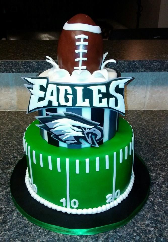 Eagles Football Cake Decorations