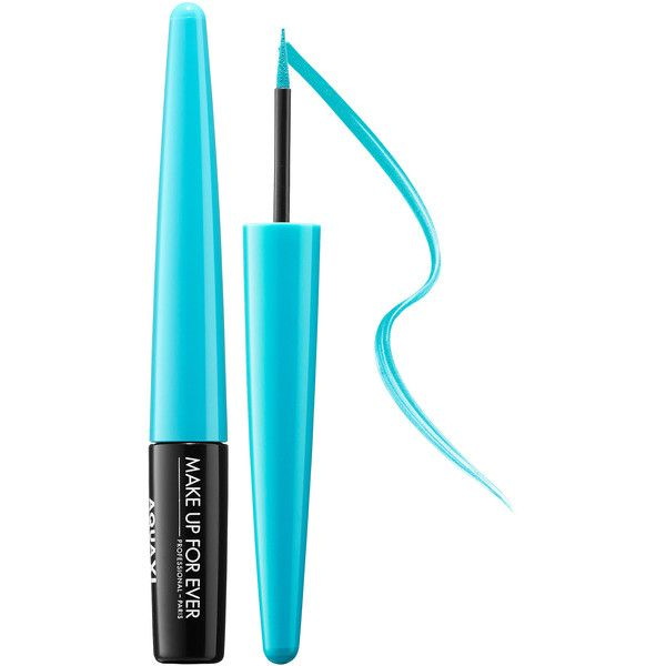 MAKE UP FOR EVER Aqua XL Ink Eye Liner ($24) ❤ liked on Polyvore featuring beauty products, makeup, eye makeup, eyeliner, beauty, eyes, make up for ever eye liner, make up for ever, liquid eyeliner and liquid eye-liner