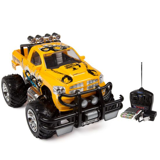 Contest Yellow Beat 4x4 RTR 1:12 Electric RC Truck