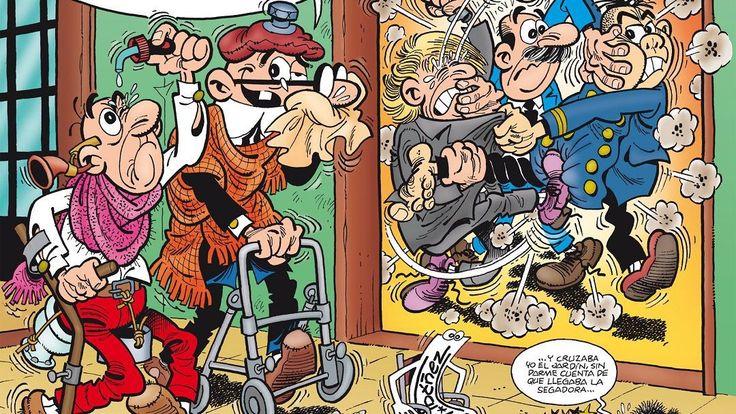 """""""Mortadelo y Filemon. El 60 aniversario"""" (Francisco Ibáñez, Ediciones B)"""