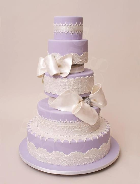Lavender Bakery Wedding Cake Ideas